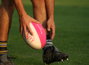 Munifex Rugby Ball in Play